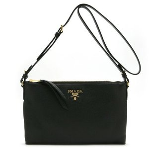 PRADA 1BH050 VITELLO PHENIX NERO